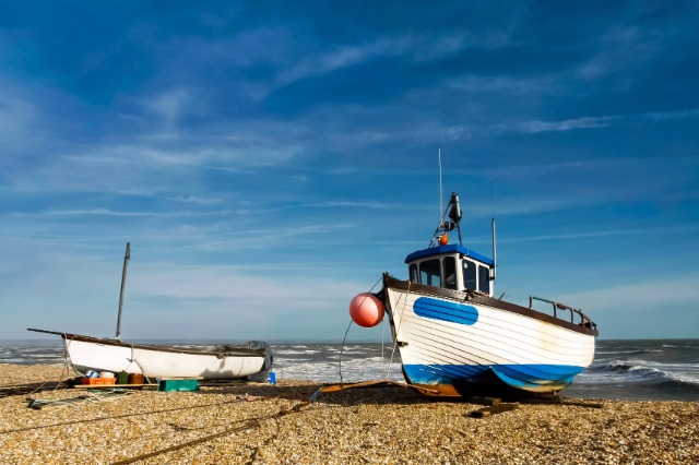 Fishing Boats At Cley